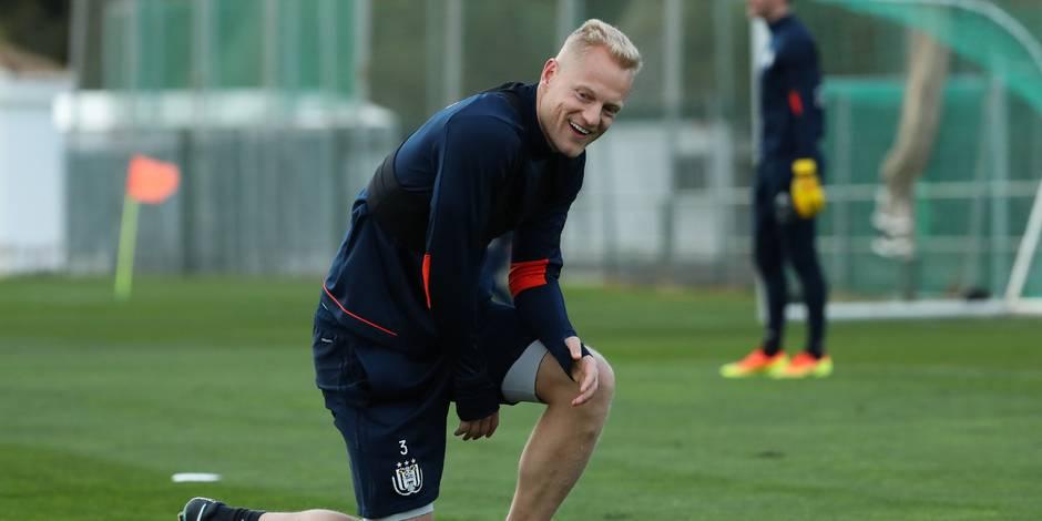 Deschacht s'entraîne avec le noyau A d'Anderlecht !