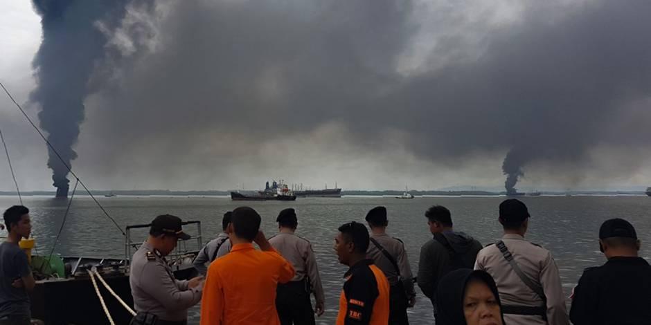L'état d'urgence déclenché sur l'île de Bornéo après une marée noire