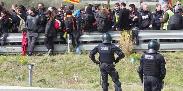 Sécurité renforcée en Catalogne après des manifestations houleuses - La Libre