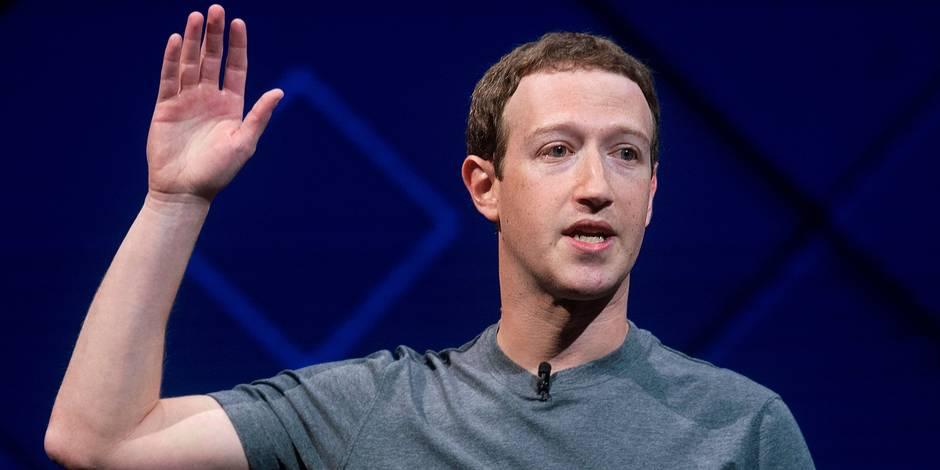 Le PDG de Facebook Mark Zuckerberg accepte d'être entendu par le Congrès américain le 11 avril