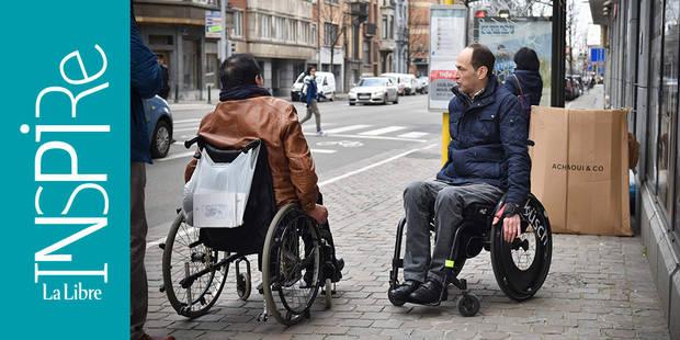 Comment permettre aux personnes à mobilité réduite de mieux circuler à Bruxelles ? - La Libre