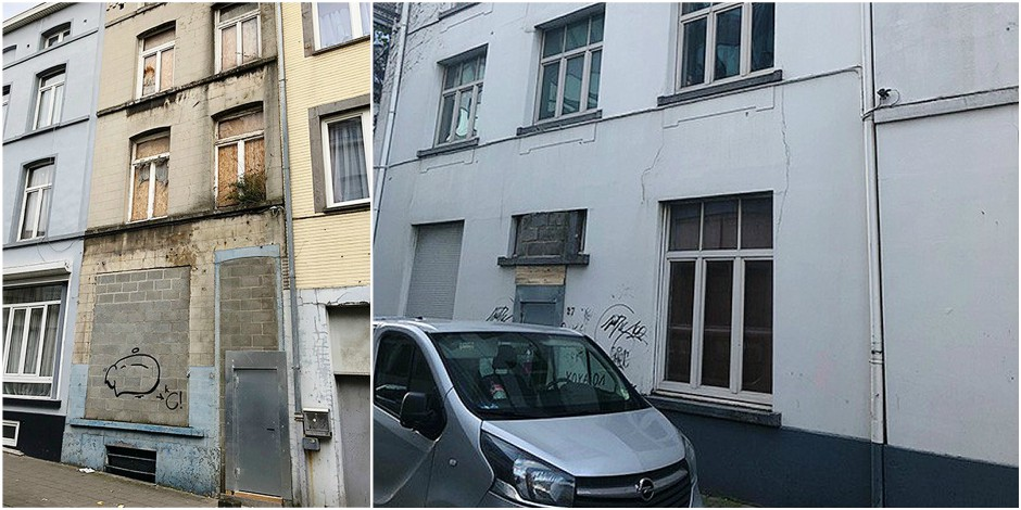 Bruxelles réinvente le principe des maisons à 1 euro