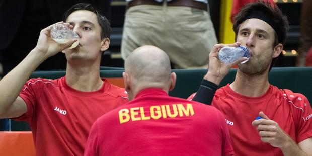 Coupe Davis: 4e point pour les Américains qui se qualifient face aux Belges - La Libre