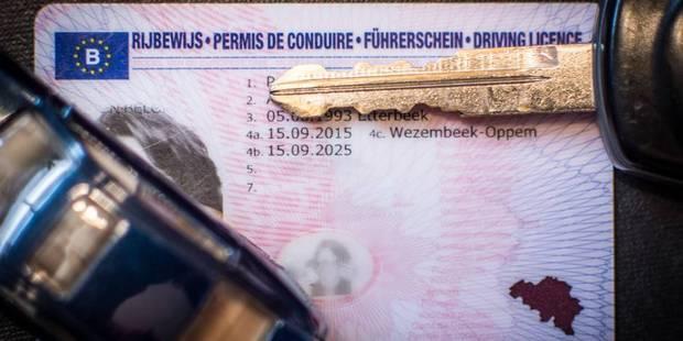 Permis de conduire: gros changements en Région bruxelloise - La Libre