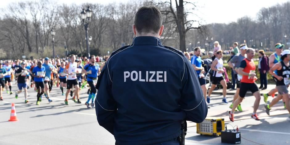 La police déjoue un attentat prévu lors du semi-marathon de Berlin