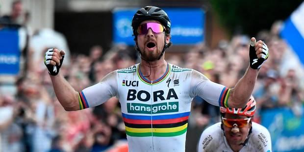 Peter Sagan vient à bout de Dillier et s'offre son premier Paris-Roubaix ! - La Libre