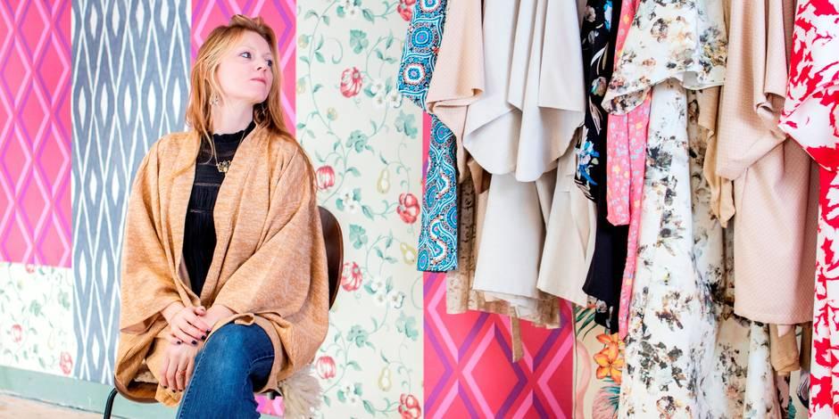 Coup de coeur pour les kimonos belges de Sara