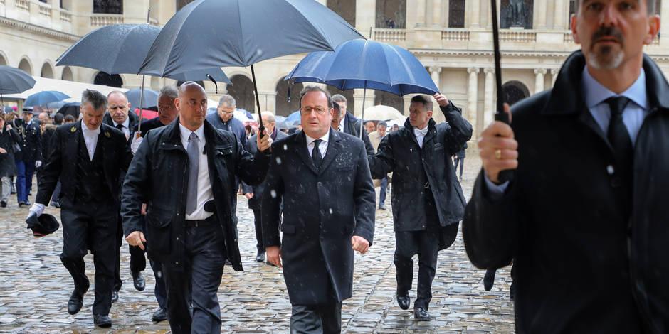 """Hollande règle ses comptes: """"Macron ne s'est jamais inscrit dans la social-démocratie. Il ne mène pas une politique qui ..."""