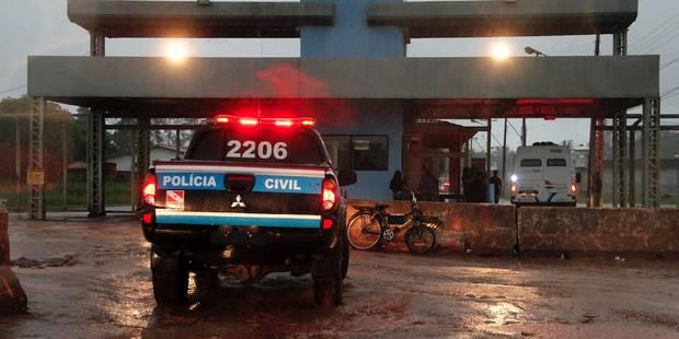 Brésil: au moins 21 morts dans une tentative d'évasion d'une prison - La Libre