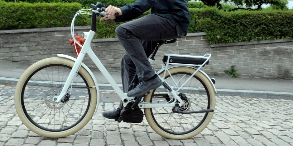 Les vélos électriques partagés débarquent à Bruxelles: une start-up belge face à Uber - La Libre