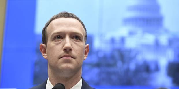 Mark Zuckerberg devant le Congrès américain: le fondateur affirme que ses données ont aussi été vendues (VIDEO) - La Lib...