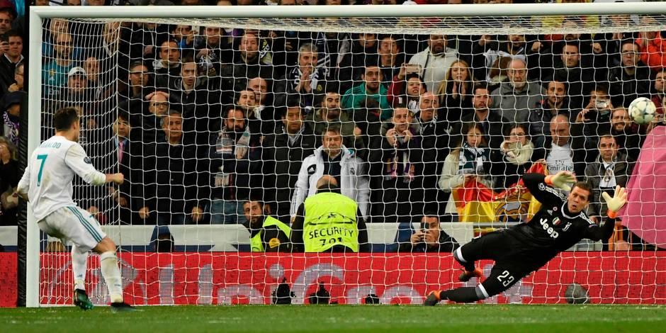 Ligue des champions: Ronaldo qualifie le Real à la dernière minute face à la Juventus (1-3), le Bayern qualifié lui aussi face à Seville (0-0)