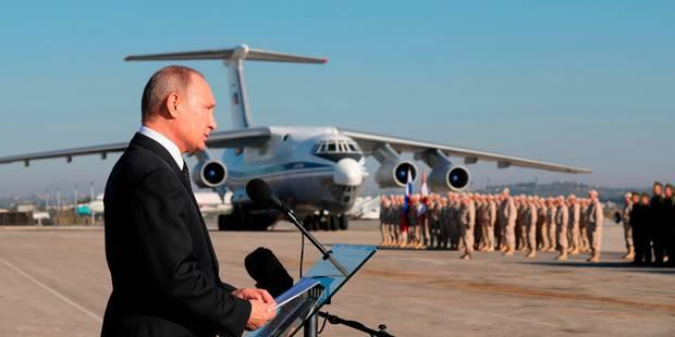 """Conflit en Syrie: le canal de communication entre armées russe et américaine est """"actif"""", selon Moscou - La Libre"""