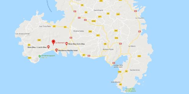 Une touriste belge de 35 ans perd la vie en Martinique - La Libre