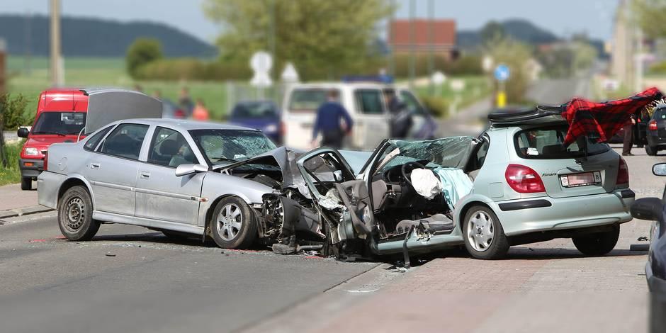 page mons/accident grave à Estinnes