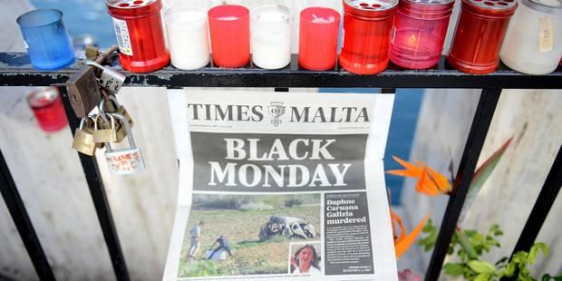 Journaliste assassinée à Malte: 18 médias internationaux vont dévoiler les résultats de leur enquête - La Libre