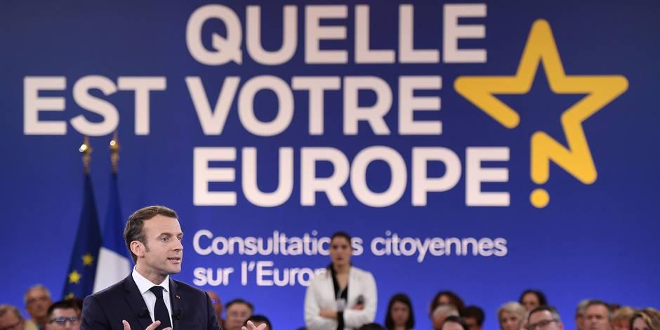 Emmanuel Macron et les députés européens ne se sont pas épargnés