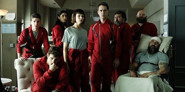 Netflix annonce une saison 3 pour sa série à succès La Casa de Papel - La Libre
