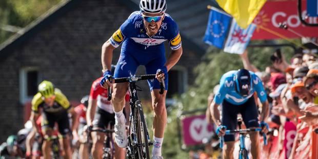 """Flèche Wallonne: Alaphilippe dompte le Mur de Huy, """"C'est mon cousin après la ligne qui m'a dit que j'avais gagné"""" - La ..."""