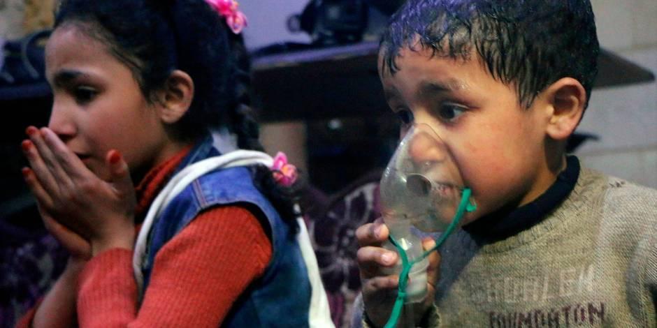 """Armes chimiques en Syrie: """"La Belgique sait depuis 3 ans"""""""