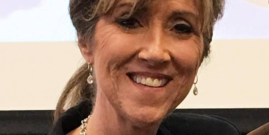 This March 20, 2017 photo provided by Kevin Garber at MidAmerica Nazarene University in Olathe, Kan., shows Tammie Jo Shults, one of the pilots of a Southwest Airlines twin-engine Boeing 737 bound from New York to Dallas that made an emergency landing at the Philadelphia International Airport after the aircraft blew one of its engines Tuesday, April 17, 2018. (Kevin Garber/MidAmerica Nazarene University via AP)