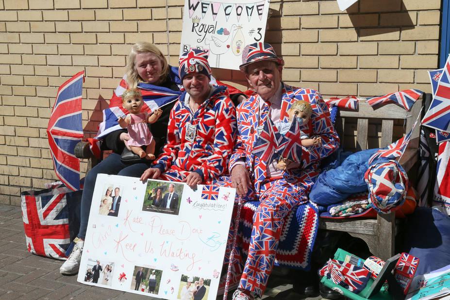 Royal bébé : Kate Middleton admise à la maternité