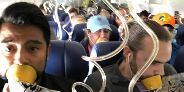 Cette photo est la preuve qu'il faut écouter les consignes de sécurité dans l'avion - La Libre