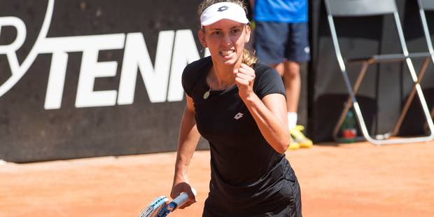 Fed Cup: Elise Mertens s'impose face à Errani, la Belgique se maintient dans le groupe mondial - La Libre