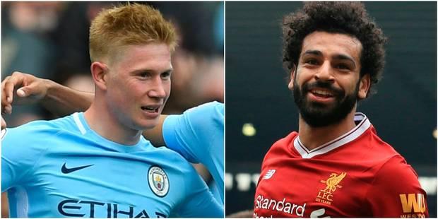 Kevin De Bruyne devancé par Salah pour le joueur de l'année de Premier League, Vertonghen dans l'équipe-type - La Libre