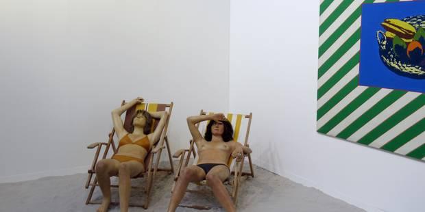 Des prix qui s'envolent pour la 50e édition de la foire Art Brussels - La Libre