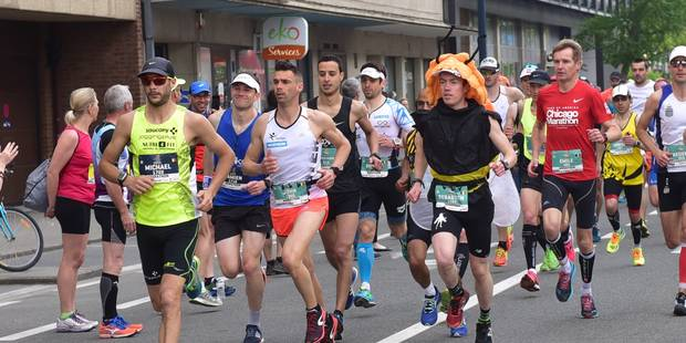 Un Bruxellois rejoint le marathon de Namur après une course à pied de 60 kilomètres - La Libre