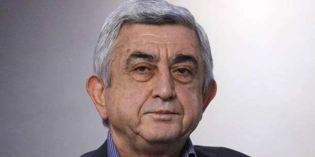 Arménie: le Premier ministre contesté démissionne, le peuple triomphe - La Libre